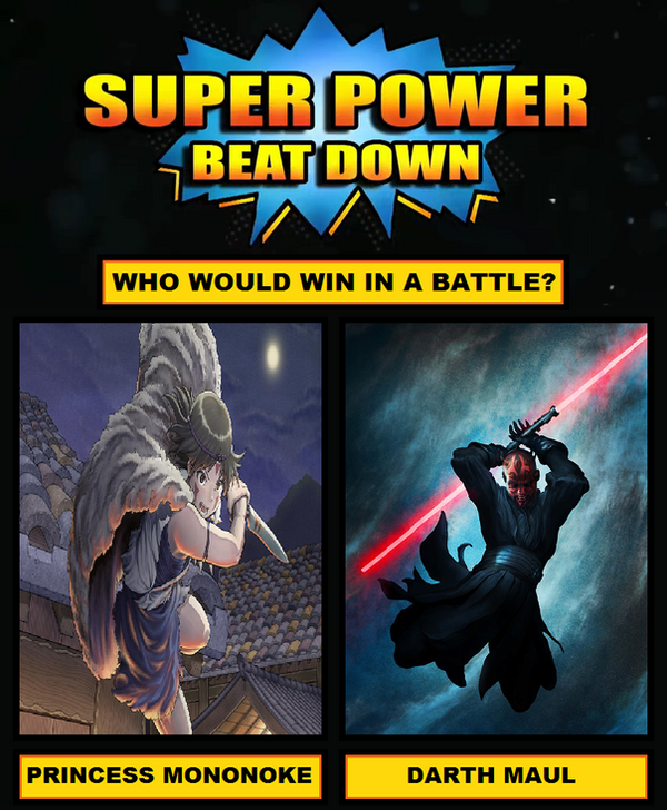 Super Power Beat Down #5 by Hewylewis