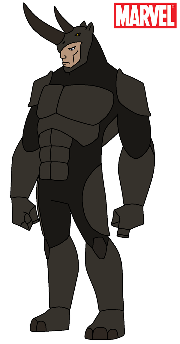 Marvel - Rhino 2015 by HewyToonmore on DeviantArt