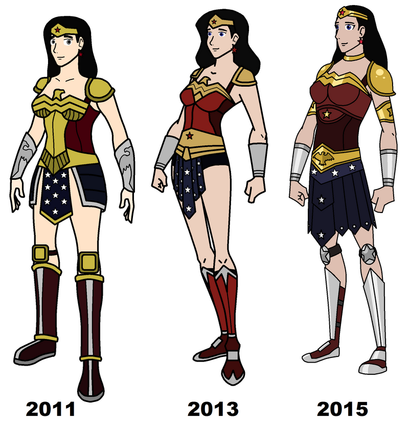 How to create a wonder woman costume-5796