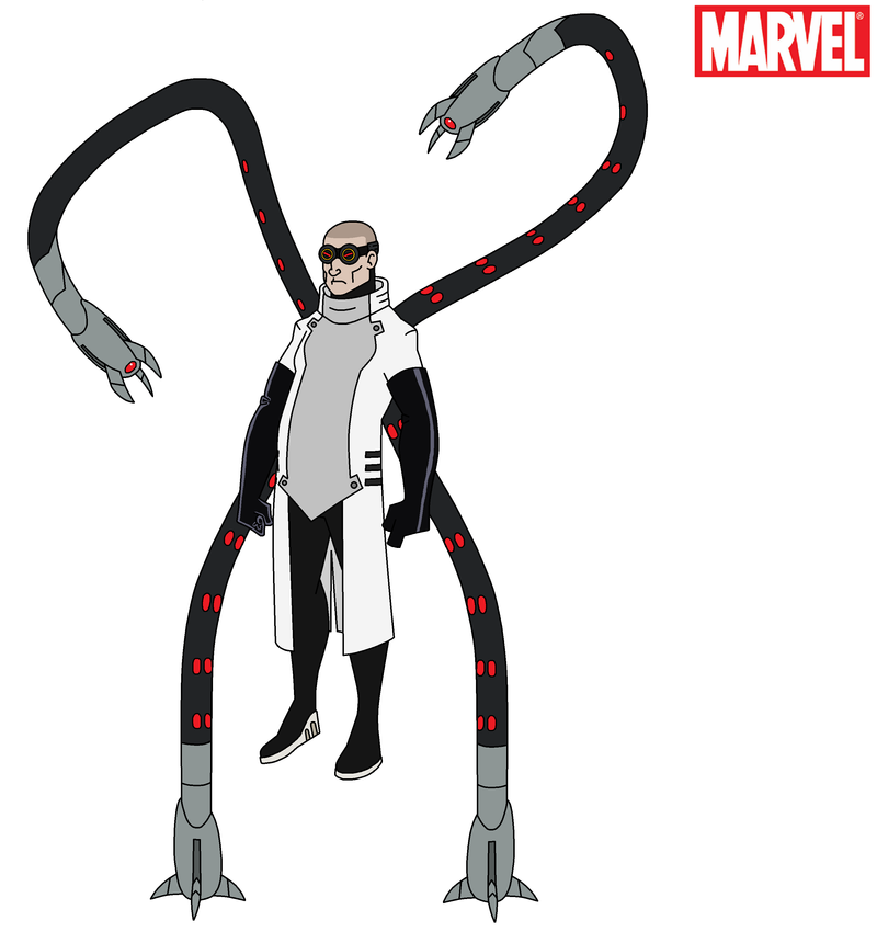 Marvel - Doctor Octopus 2017 by HewyToonmore on DeviantArt
