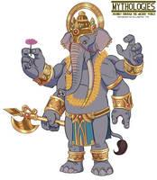 Mythologies - Ganesha 2018 by HewyToonmore