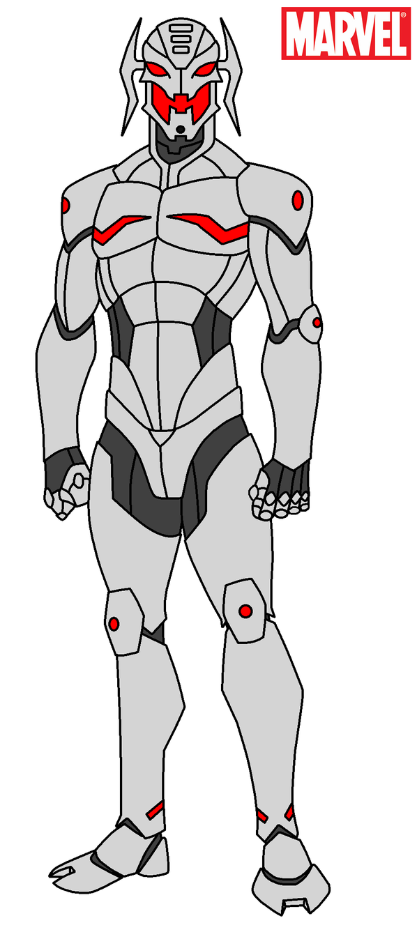 Marvel - Ultron by HewyToonmore