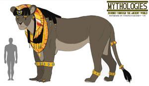 Mythologies - Queen Nefer the Sphinx