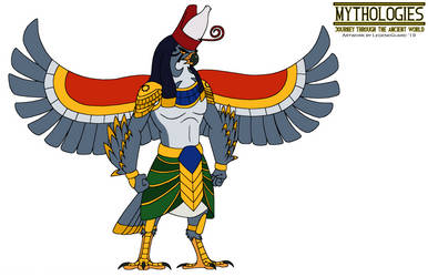 Mythologies - Horus 2019 by HewyToonmore