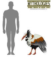 Mythologies - Stymphalian Bird #2