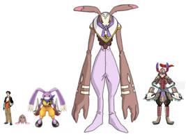 Digimon Renegades - Joey Wallace Digimon Line