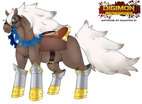 Digimon Renegades - Llamreimon