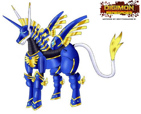 Digimon Renegades - MetalUnimon