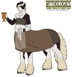 Mythologies - Rowan the Centaur