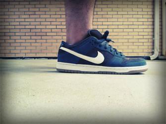 f20bdab407a2 ... Nike SB Futura II (Slate Blue) Shot 1 by grafitup