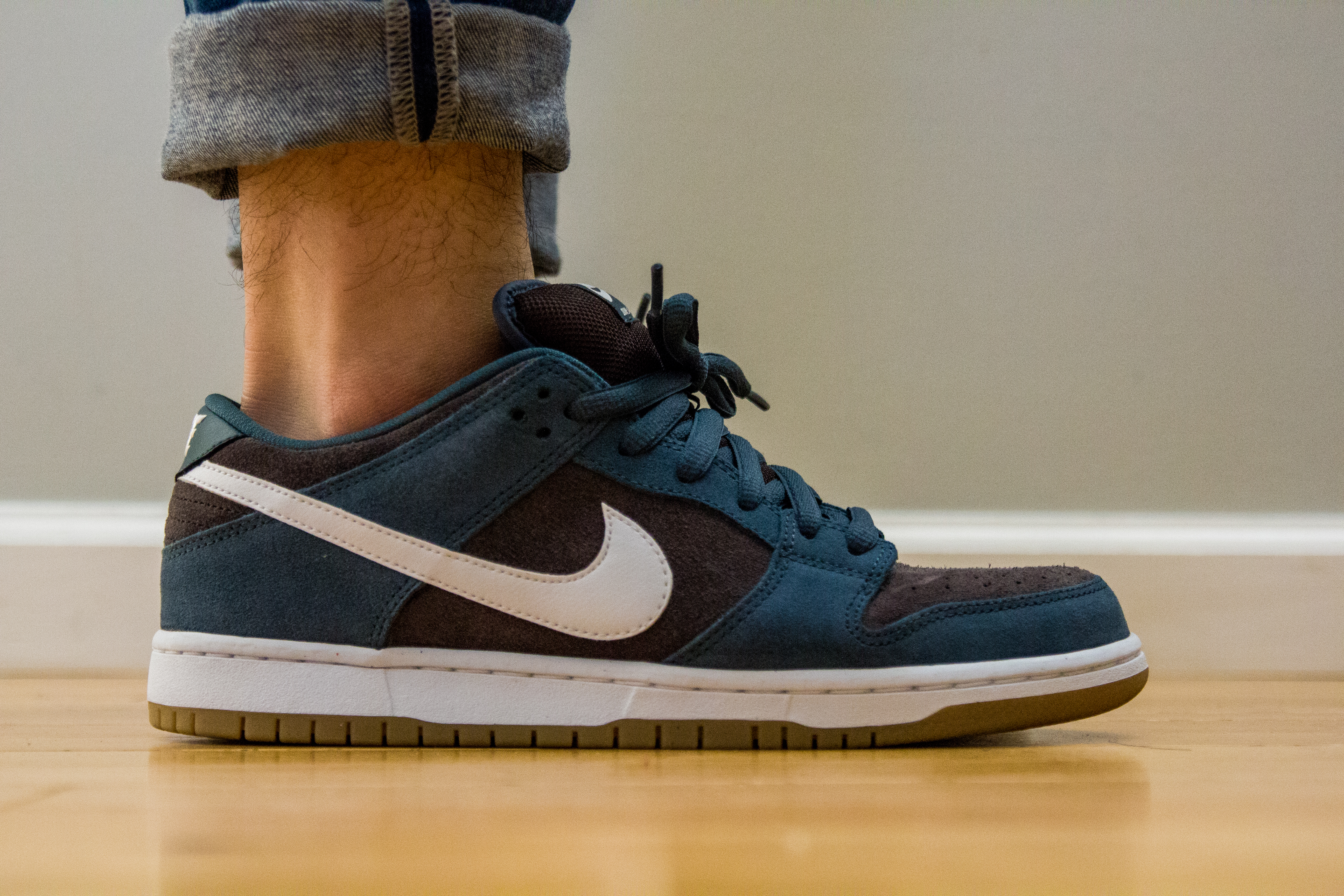 e05a73c93e41 Nike SB Slate Blue (aka Futura II) on Feet by grafitup on DeviantArt