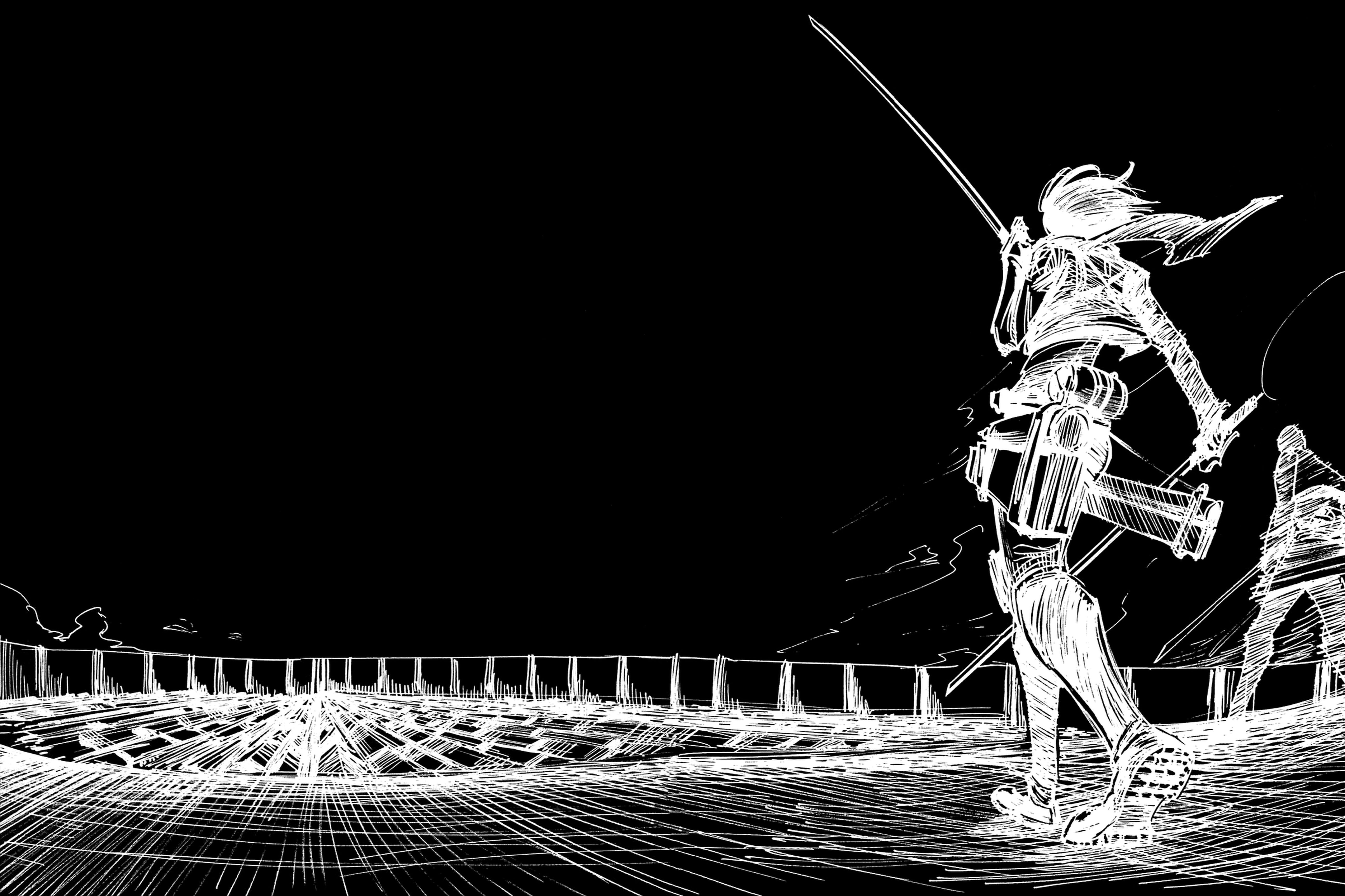 Shingeki No Kyojin Attack On Titan Wallpaper By Grafitup On Deviantart