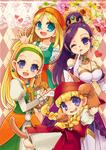 dragon quest xi girls!!