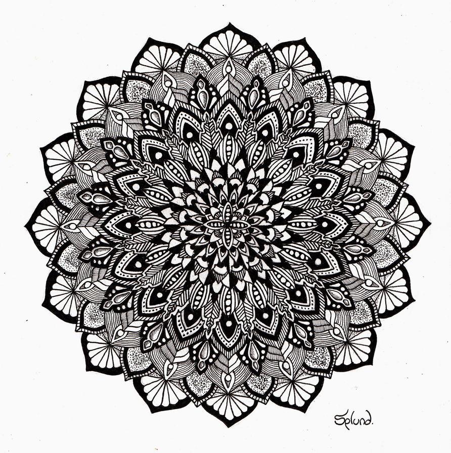 Christmas Mandala by Splund-Art on DeviantArt