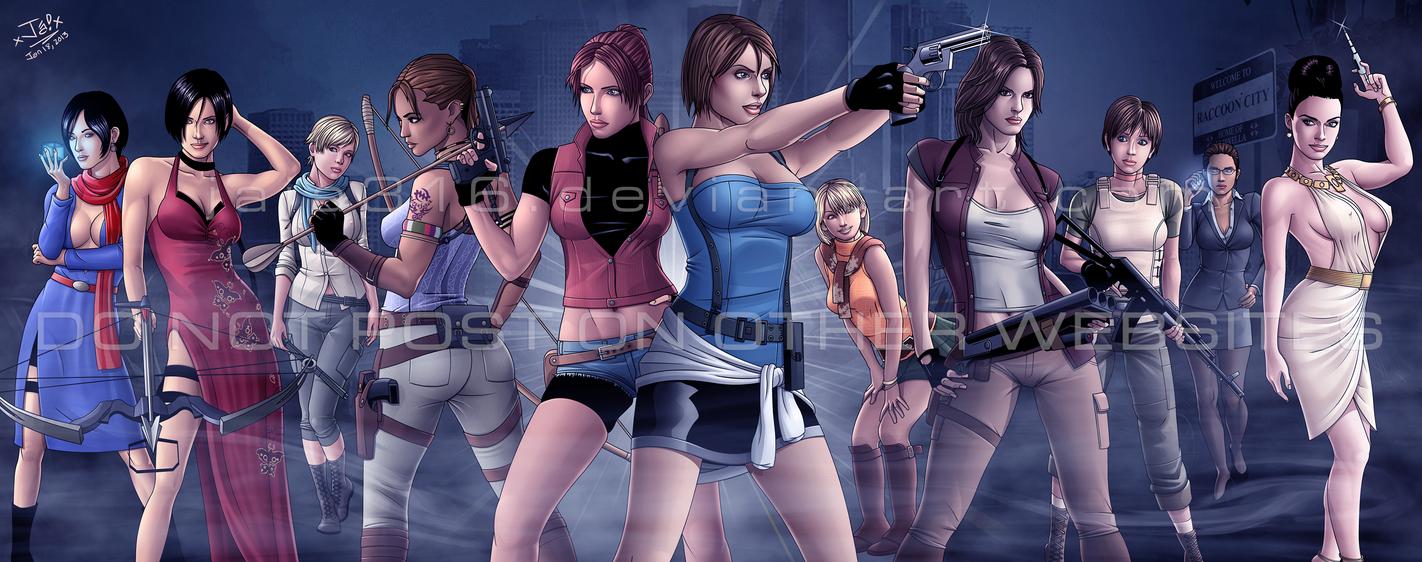 ladies of evil by Jaja316