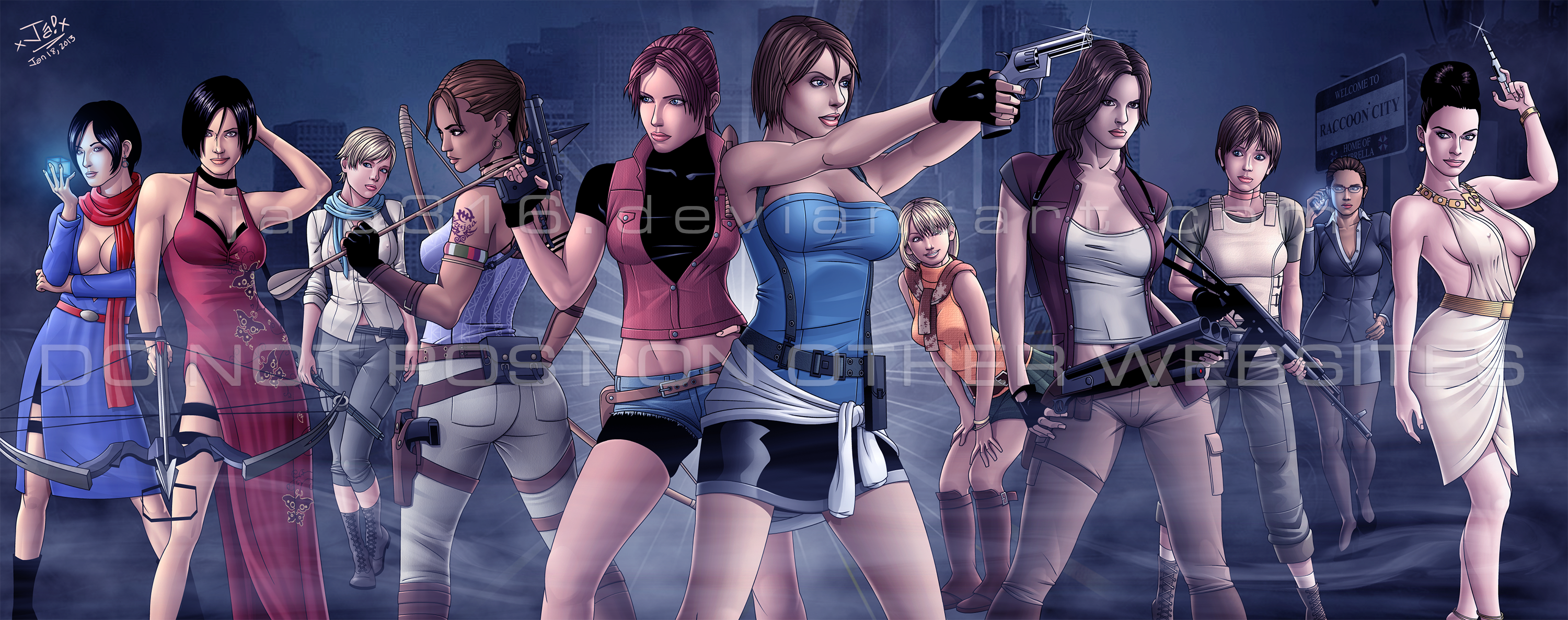 Resident evil girl humping sexual photos