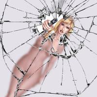 Hannah Valentine: Straight shooter wallpaper