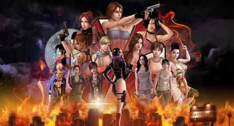 Ladies Of Evil Wallpaper