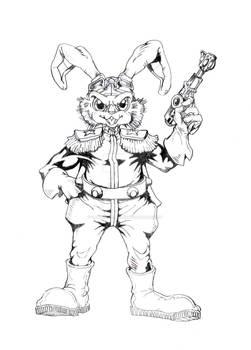 Bucky O'Hare --Uncolored--