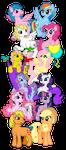 My little Pony Generations by Dragnmastralex