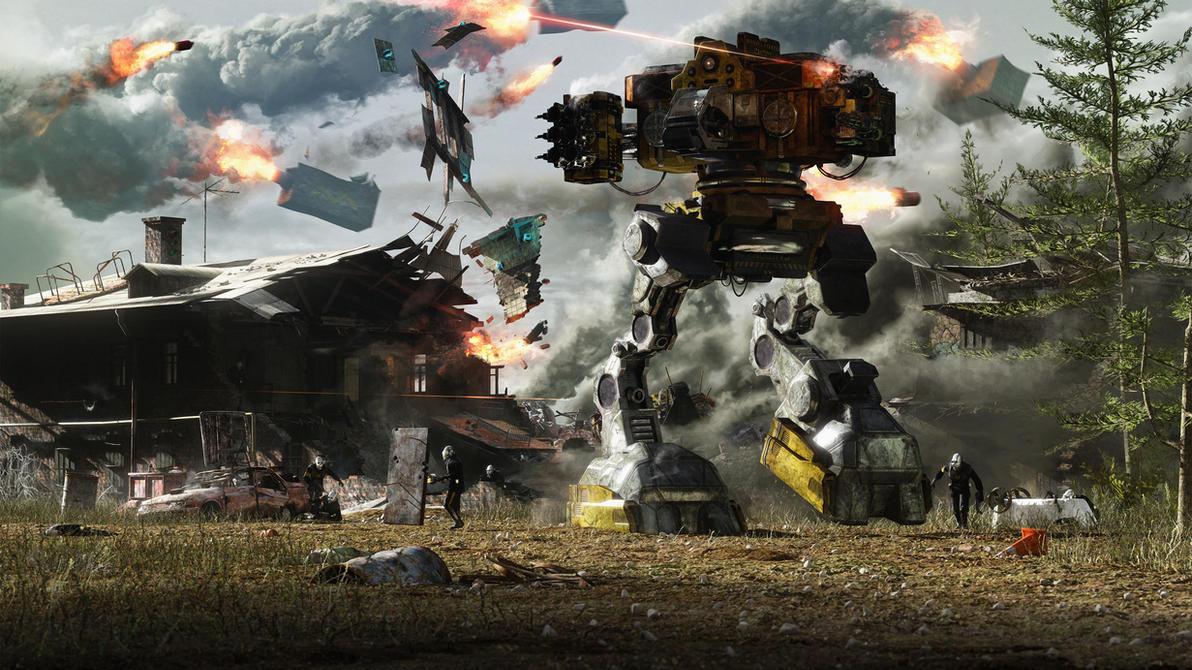 Unconventional Warfare by Vioxtar