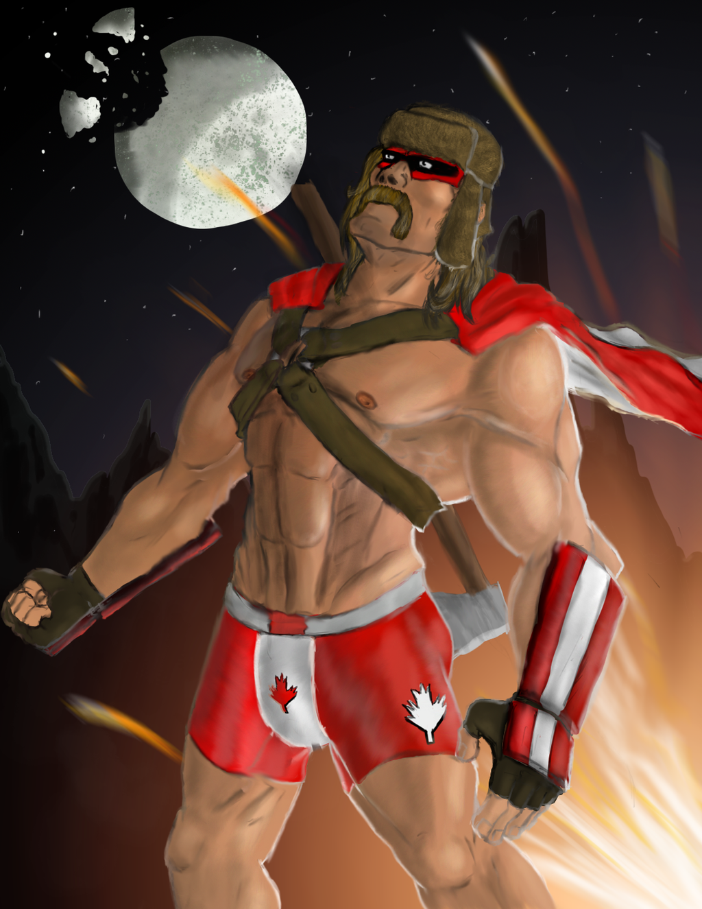 Commander Canada by Kopheay