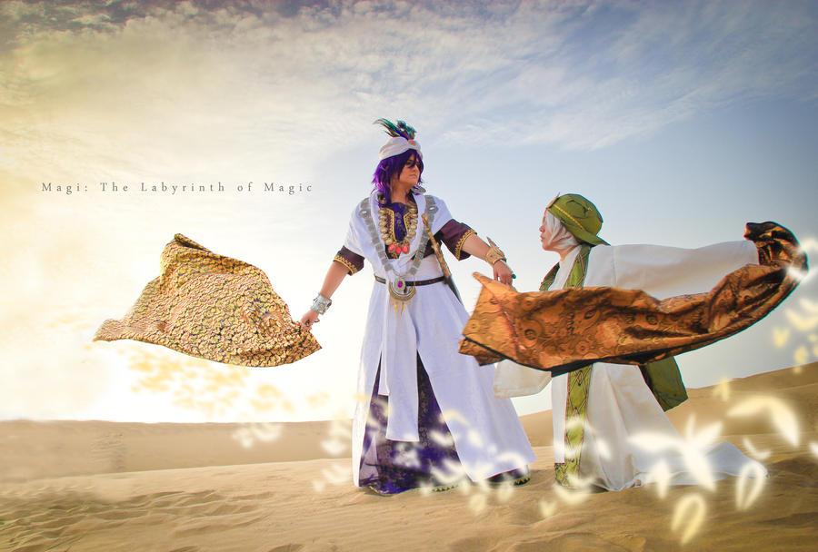Magi -  King and Chief by Hikari-Kanda