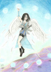 Angelic witch