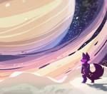 A Midnight Saturn's dream