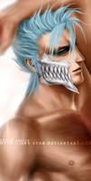 +GRIMMJOW:CLOSE UP+ by jinx-star