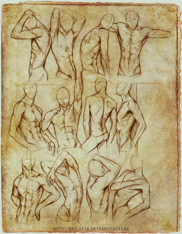 +MALE BODY STUDY II+