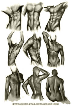 +MALE BODY STUDY III+