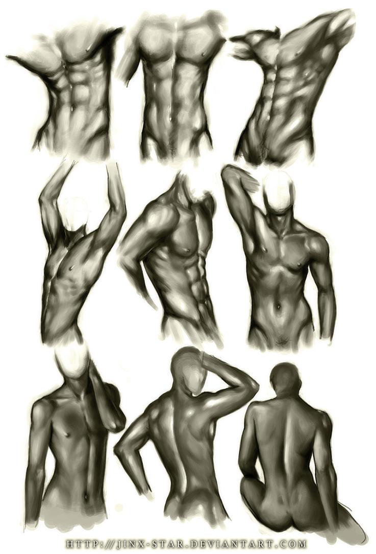 +MALE BODY STUDY III+ by jinx-star