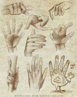+HAND STUDY+
