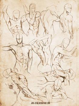 +MALE BODY STUDY VI+