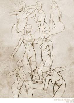 +FEMALE BODY STUDY II+