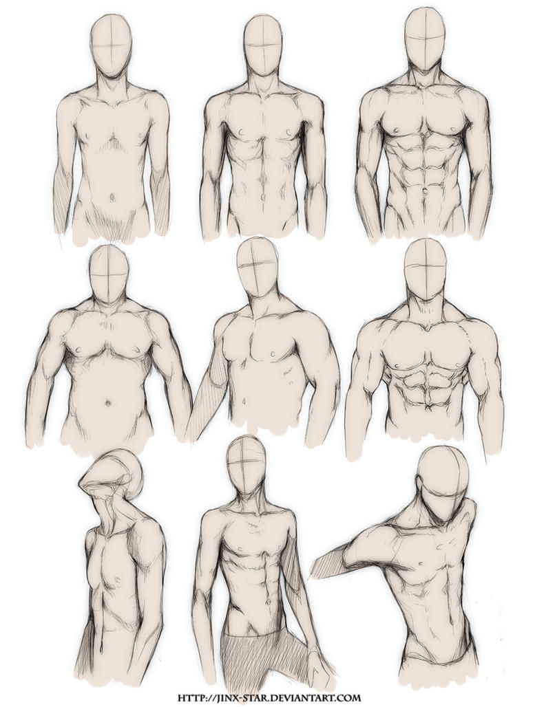 +BODY TYPE STUDY+ by jinx-star on DeviantArt