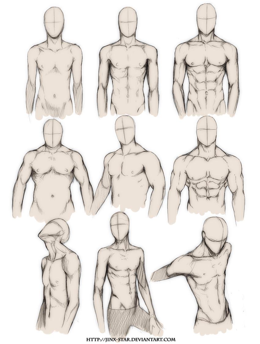 BODY TYPE STUDY By Jinx Star