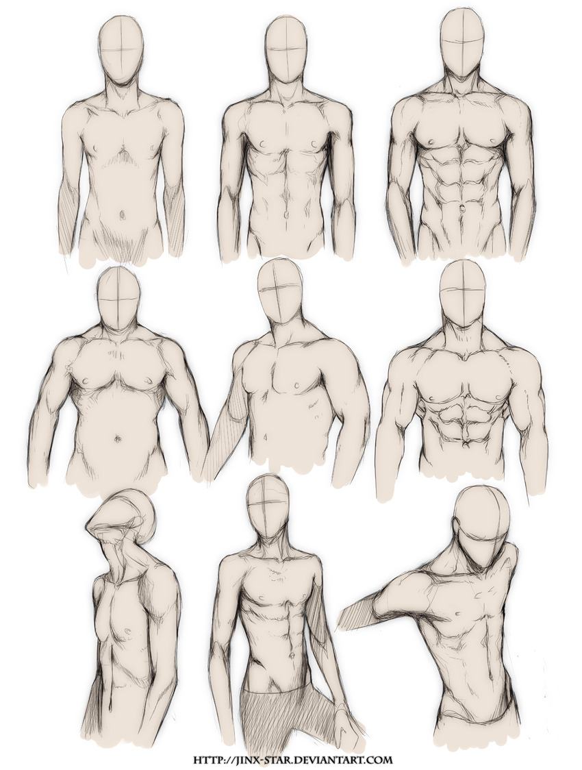 BODY TYPE STUDY+ by jinx-star on DeviantArt