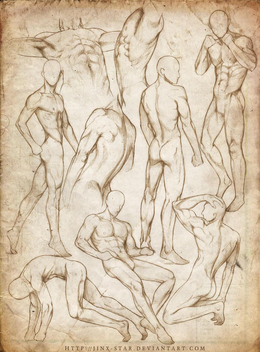 +MALE BODY STUDY VII+