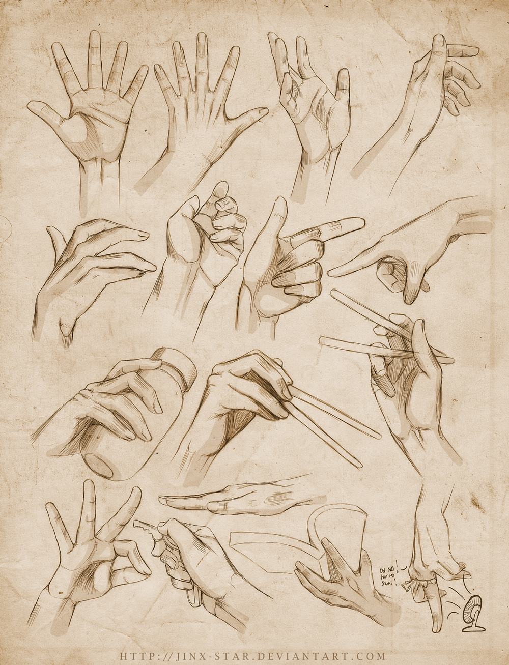 +HAND STUDY . EXPANDED+