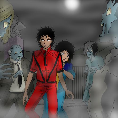 Michael Modo Artistico Michael_Jackson___Thriller_by_Itachi_Kitsu
