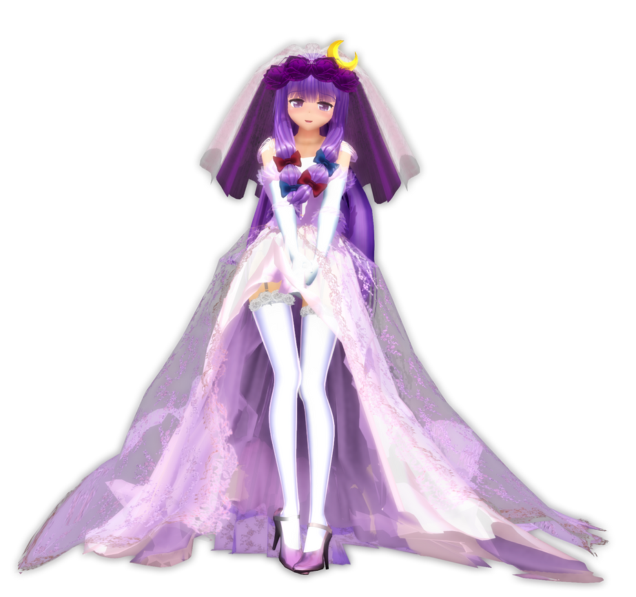 3d mmd sexy patchouli knowledge in killer lady 10