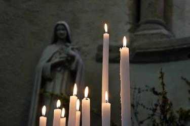 Eglise Saint Nectaire by Doloresvselenium
