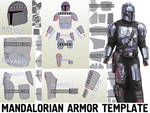 Mandalorian Beskar Armor Template