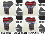Red Hood Armor Cosplay Template (Eva Foam)