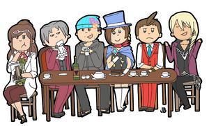 Tea Partayy by berrynerdy