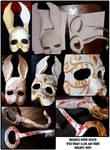 Splicer Mask and Hook Progress
