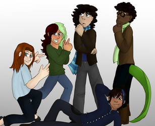The Young 'Uns by bookfangeek