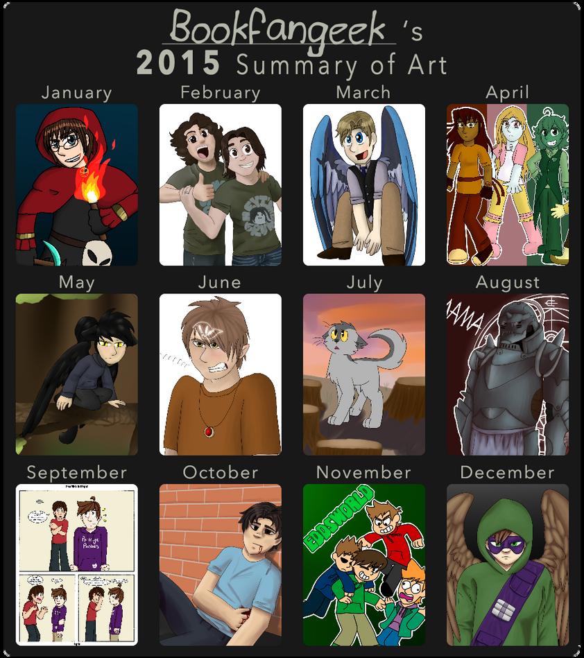 2015 Art Summary by bookfangeek
